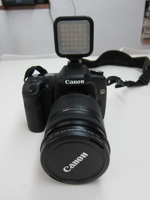 On Canon 50D