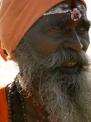 saffron robes (claradorey88) Tags: saffronrobes india sadu holyman