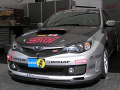 Subaru Impreza STI (dafreaky73) Tags: cars car race eifel subaru stunden impreza sti rennen 2009 nuerburgring adac 24h nordschleife nrburgring strecke nurburgring northloop dafreaky73