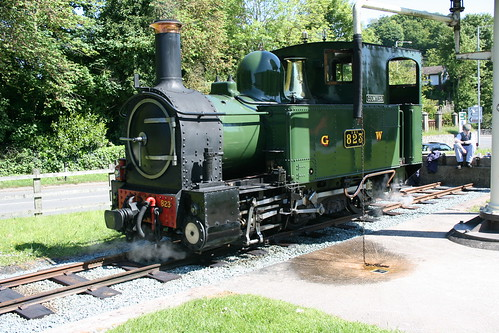 Countess basks in the sunshine at Welshpool