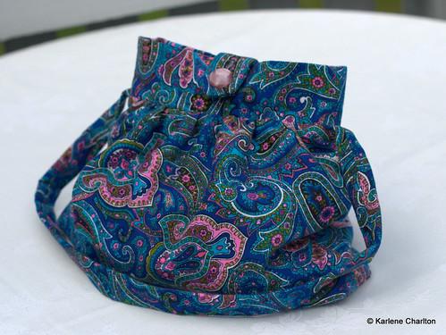 Groovy paisley bag