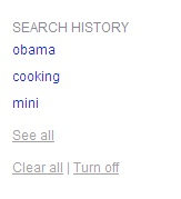 Search History At Bing