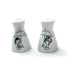 "Rosenthal ""lovers"" salt and pepper shakers (Wooden donkey) Tags: ceramic fifties 1950s 50s porcelain peynet rosenthal"