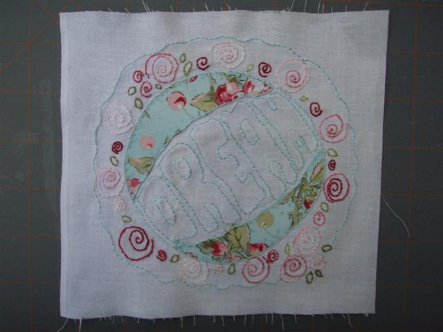 Shabby Roses Block 3 (Dream)