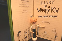Diary of a Wimpy Kid - Gregory (creatingtreasures) Tags: jeff kid doll diary clothespin wimpy kinney