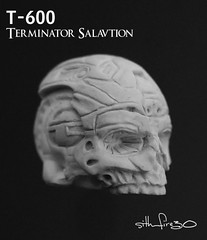 Terminator Salvation T-600 Figure WIP 3 (sith_fire30) Tags: movie skull action machine figure terminator custom salvation mcfarlane neca skynet t600 t800 endoskeleton