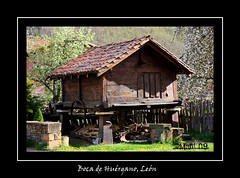Hórreo (mañi) Tags: architecture rural spain arquitectura traditional popular león horreo picosdeeuropa riaño bocadehuérgano tierradelareinaleón