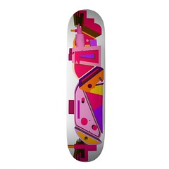 Pink Abstract: Zazzle Skateboard (Spirit Switchboard) Tags: trip geometric spiral skateboarding acid it deck skate twirl skateboard fractal swirl products trippy psychedelic custom product customize zazzle customizable
