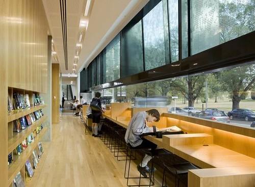 05 Melbourne Grammar School - Library Interior Design