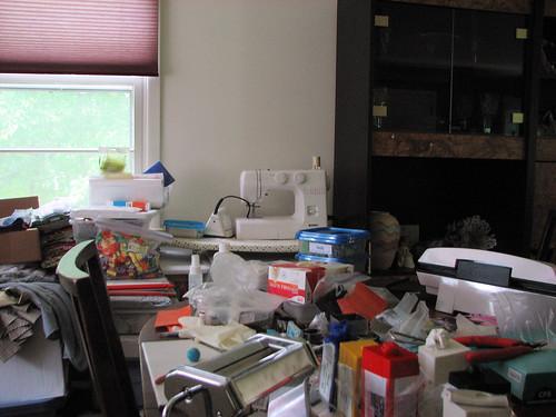 Creative clutter