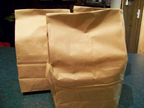 brown paper bag swap