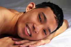 Nattapol # 2 (just.Luc) Tags: man male homme hombre uomo portret portrait face ritratto retrato gezicht visage asian thai jeune jongeman young picnik smile shirtless porträt asiatique aziaat asiate mand