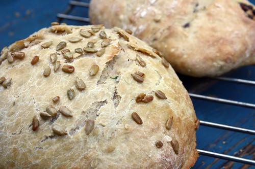 Rosemary-Thyme and Chocolate Chip Breads + Giveaway! 2