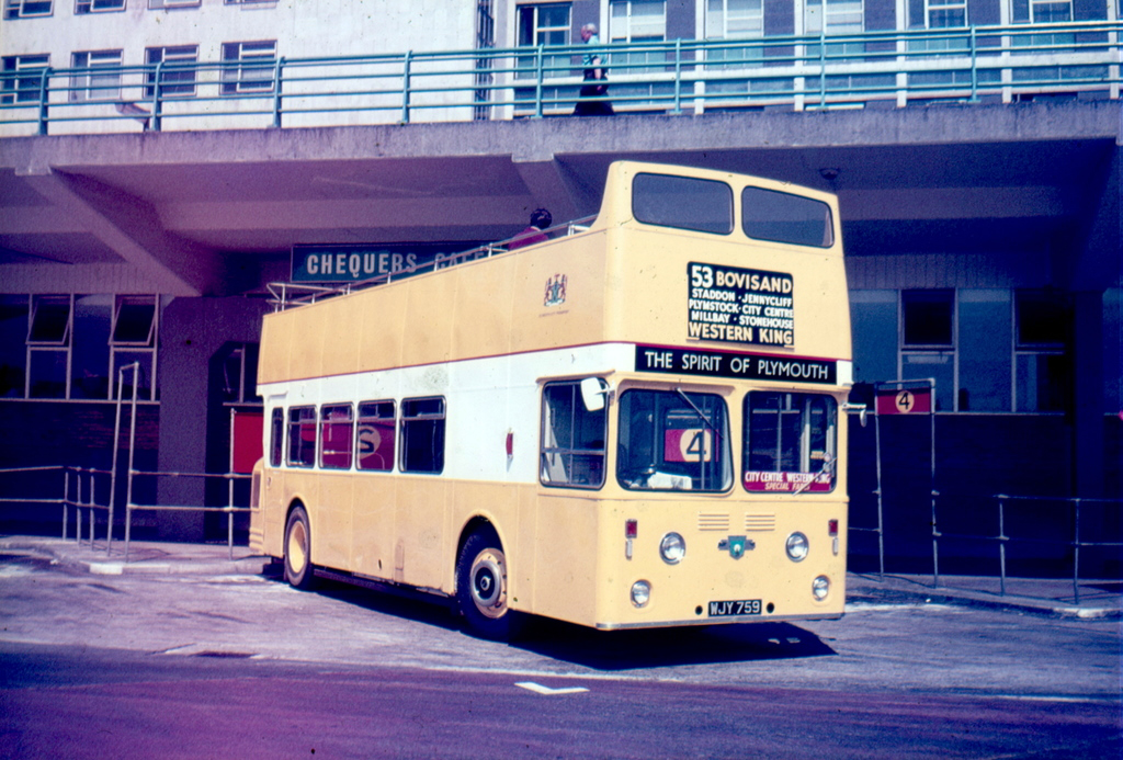 Plymouth City Transport WJY759