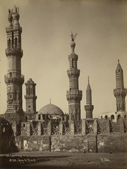 Egypt. Group of Minarets
