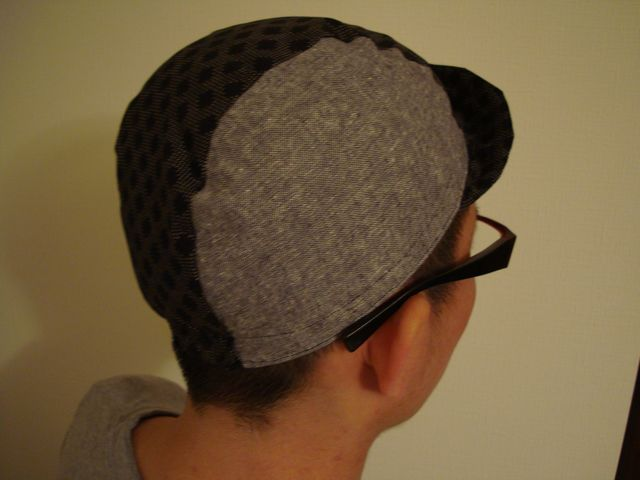 嫁 made cycle cap back