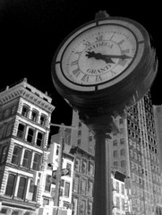 Tribecca Grand Clock