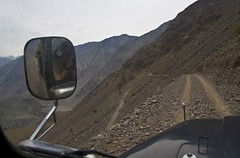 The road to Fairy Meadow 1 (where are the crash barriers) (bag_lady) Tags: pakistan mountains trek landscape jeep scenic scene northernareas fairymeadow concordians worldtrekker