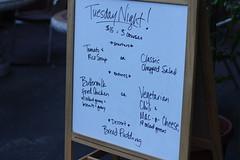 3 course menu