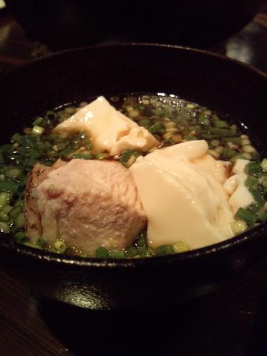 豆腐と鶏肉の鍋