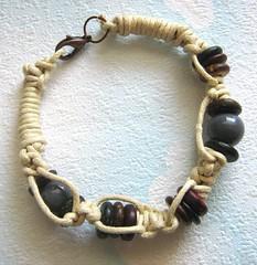 First Macramé bracelet