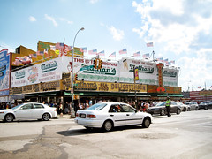 nathan's @ coney island
