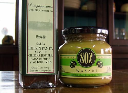 Hoisin Sauce & Wasabi Mustard