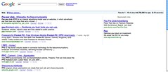 Google SERP in Safari