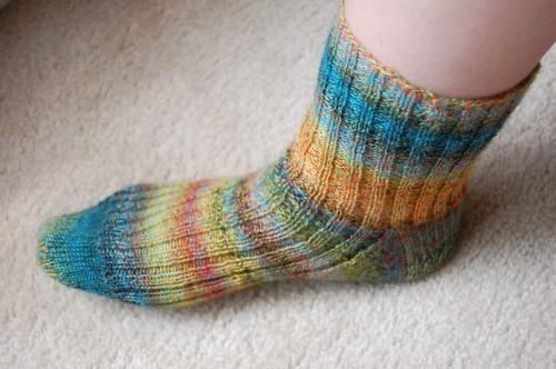 FO: Trekking sock