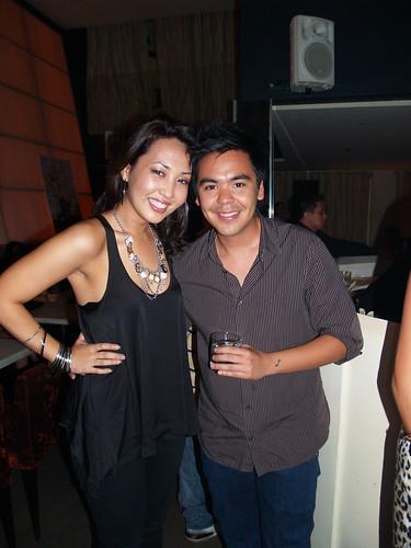 Rosario Herrera and JM Rodriguez