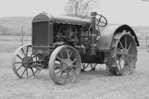 Antique McCormick Tractors