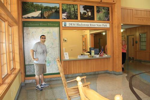 Inside Visitor's Center 1