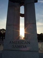 WWII Memorial - American Samoa