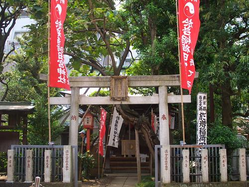 於岩稲荷田宮神社 oiwa-shrine