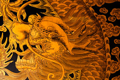 fiery dragons (ion-bogdan dumitrescu) Tags: wood fire gold golden singapore dragon chinese pole fiery thianhockkengtemple bitzi summer09 ibdp mg6820 thetempleofheavenlyhappiness findgetty ibdpro wwwibdpro ionbogdandumitrescuphotography