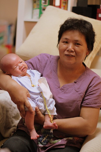 樂樂跟外婆