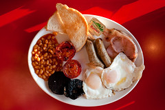 all new olympic breakfast (lomokev) Tags: red food canon tomato eos restaurant yummy cafe beans tea plate eggs 5d fryup littlechef blackpudding fullenglish canoneos5d olympicbreakfast fryedeggs file:name=090809eos5d5263 pophamlittlechef