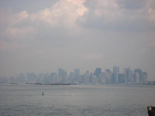Vue depuis Staten Island