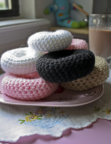 Yummy new crocheted donuts for the little one
