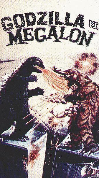 World Trade Center Godzilla vs Megalon Video Box