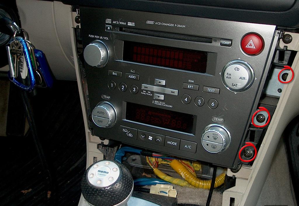 '08 Outback Radio Installed In My '05 Legacy Subaru Forumsrhlegacygt: 2007 Subaru Legacy Audio At Gmaili.net