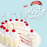 Red Ribbon White Forest