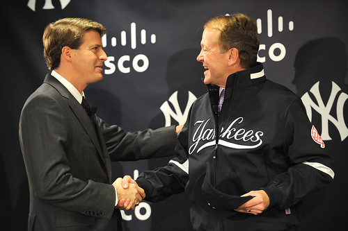 New York Yankees and Cisco