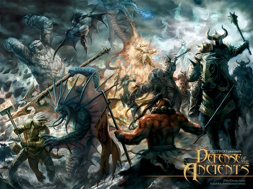defense of the ancients download latest dota ai map dota