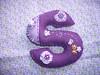 chaveiro (*Sonhos e Retalhos Ateliê*) Tags: feltro patchwork letras chaveiro