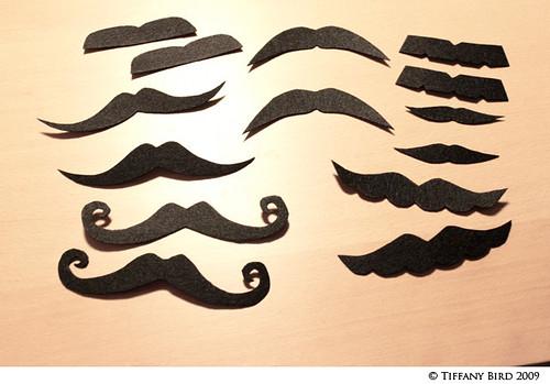 mustache x2