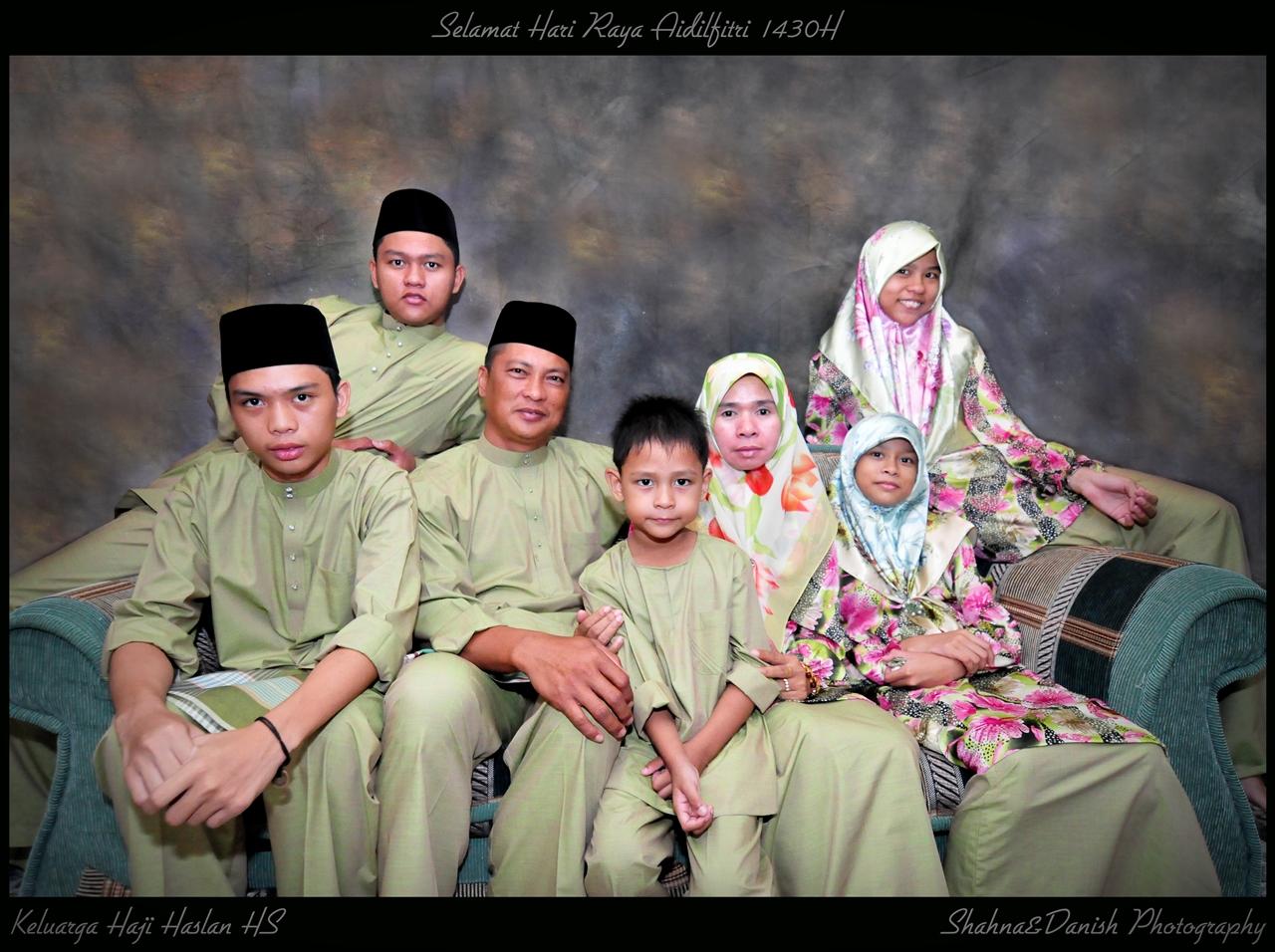 Hj Haslan Family