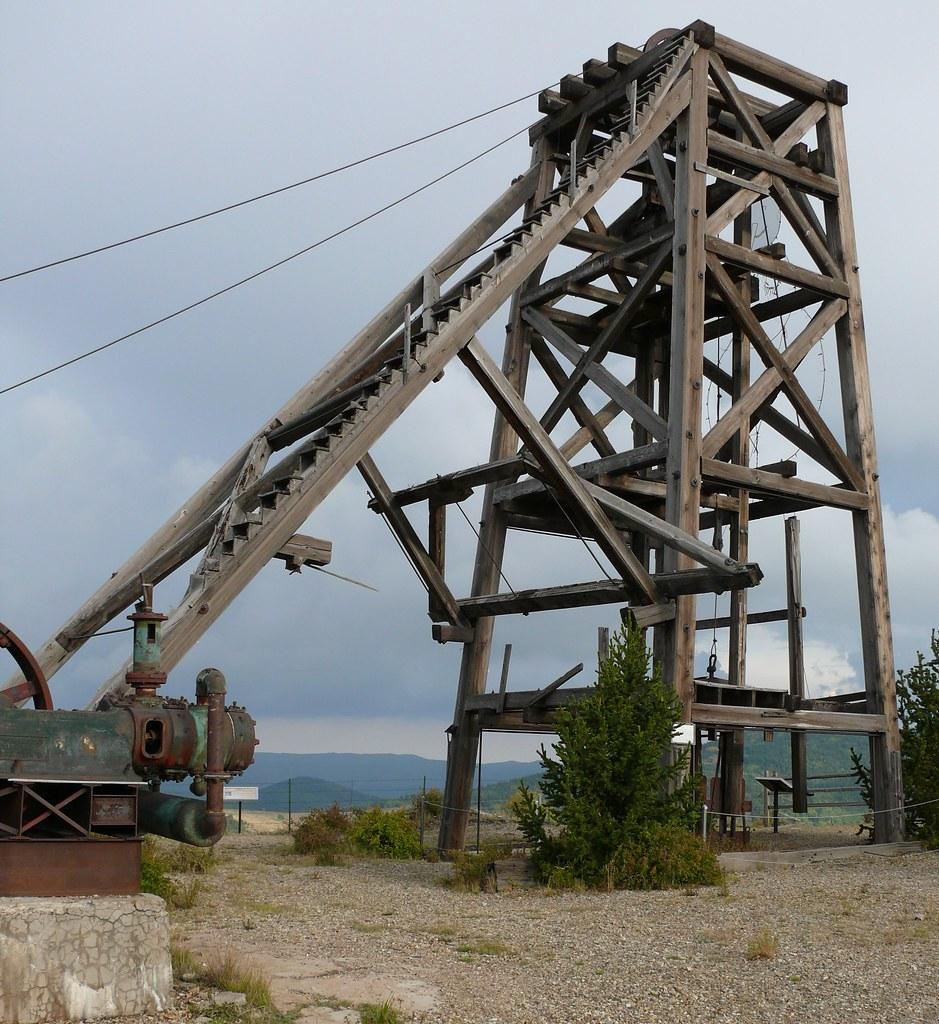 American Eagles Mine - Headframe