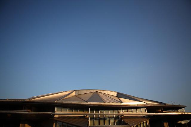 体育館の屋根