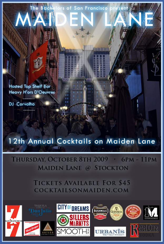 Cocktails On Maiden Lane 2009